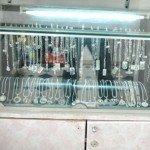 Thi công tủ nhôm kính đựng trang sức giá rẻ