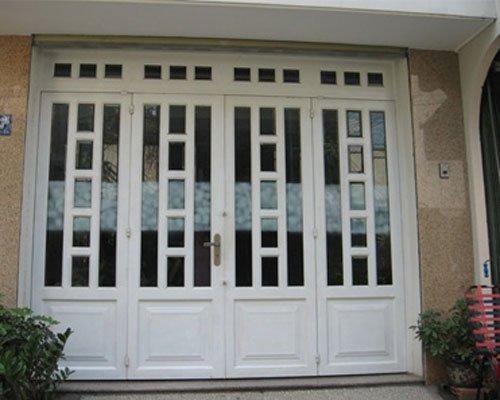 cửa nhôm kính 4 cánh đẹp Ms015