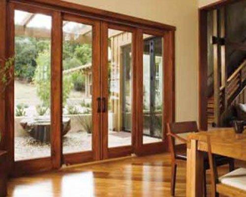 Cung cấp và lắp cửa nhôm vân gỗ giá rẻ