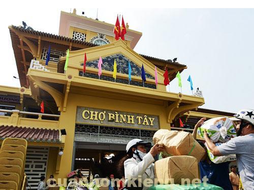 Chợ Bình Tây -Biểu tượng cho ai khi nhắc tới quận 6 TPHCM