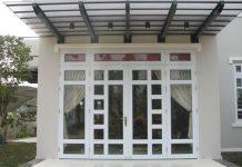 cửa nhôm kính sơn tĩnh điện 2019