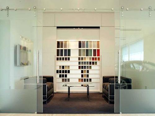 mẫu phòng trang trí bằng cửa nhôm kiếng đẹp 2019