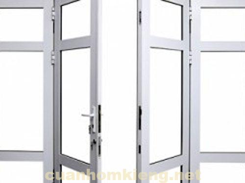 cửa nhôm kính khung nhôm đẹp bền